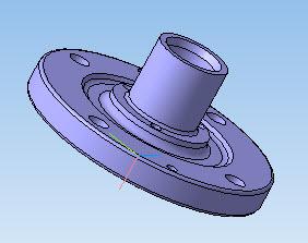 Тормозная втулка в 3D