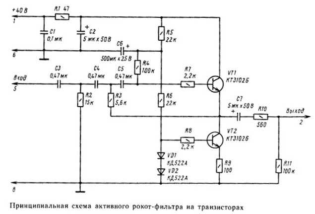 Re: Фильтр, обрезающий низкие частоты.
