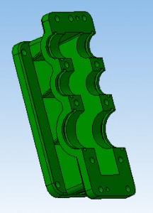 3D модель картера редуктора