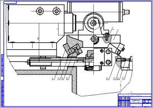 Полуавтомат для обработки пазов ударника