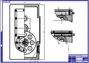 Силовая головка специального станка для обработки пазов ударника