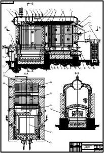Теплогенерирующая установка ДКВР-6,5-14