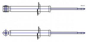 Амортизатор ВАЗ-2108 задний