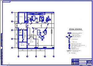 Планировка участка механической обработки