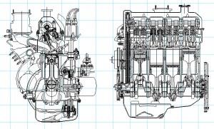 Двигатель ВАЗ-2103