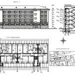 Реконструкция жилого 4-х этажного здания